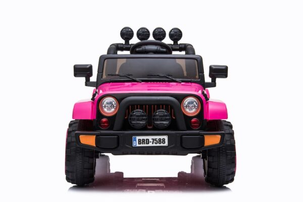 pink electric ride on car truck