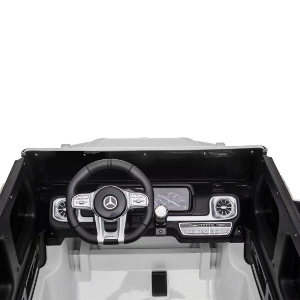 interior 2 seater g63 mercedes white