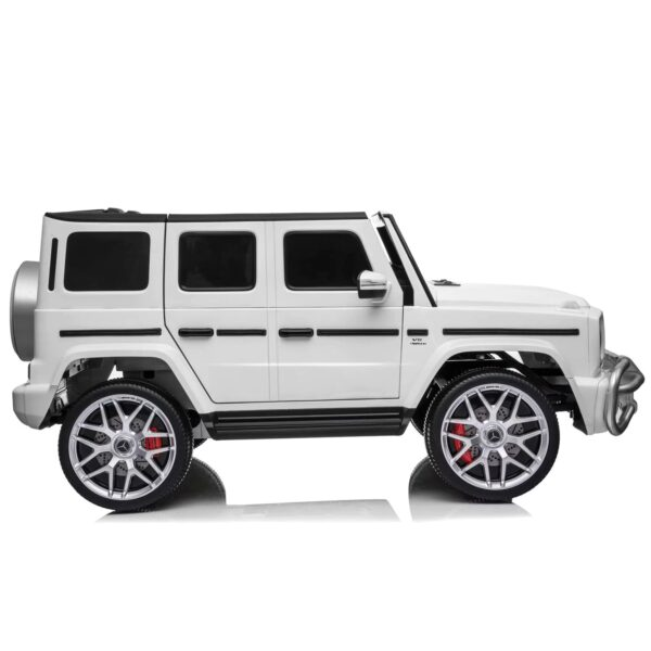 side mercedes 2 seater g63 ride on car kids